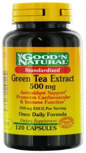 green tea supplement