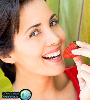 براي سلامت قلب و عروق سبزيجات و ميوه هاي قرمز مصرف کنيد.