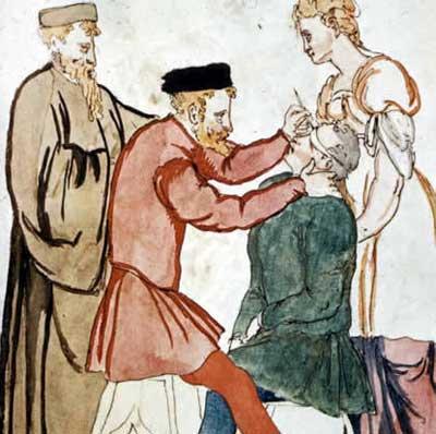 پزشکی اروپا در قرون وسطی